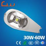 3 años de la garantía 60W de la iluminación LED de lámpara de calle al aire libre