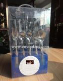 vente chaude du marché du Placer-Iran de couverts de vaisselle plate de vaisselle de polonais de miroir de l'acier inoxydable 12PCS/38PCS (CW-C3012)