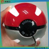 6000mAh Pokemon gaan de Bank van de Macht van Pokeball van het Spel met LEIDEN Licht