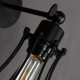 Luz decorativa da lâmpada de parede da rua moderna