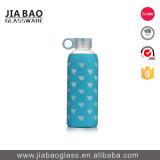 1000ml personalizou frasco de vidro do Borosilicate do projeto do decalque o grande