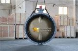 AlセリウムISO Wrasの青銅色C954 C955 C958の二重フランジを付けたようになった蝶弁は承認した(CBF02-TF01)