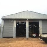 Мастерская ремонта автомобиля стальной структуры с офисом