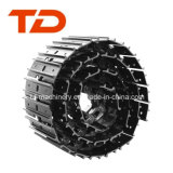 土工の本物の掘削機の下部構造はトラック靴のパッドトラックリンク靴を分ける