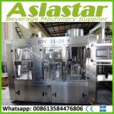 Água macia automática Integrated de máquina de enchimento da bebida da cola produzindo a linha