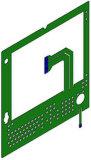 銅のフィルムPCBの防水適用範囲が広い膜スイッチ平らなタクタイルタイプ