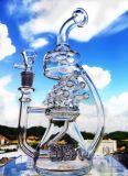 2016 de Nieuwste Honingraat van de Waterpijp van het Glas van de Recycleermachine van de Percolator van Birdcage van het Wiel van de Wind per Waterpijp