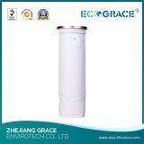 Legno che elabora il filtro a sacco applicato della polvere del poliestere per filtrazione del gas