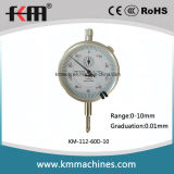 0-10mmx0.01mm Vorwahlknopf-Anzeiger-Anzeigeinstrument-messende Hilfsmittel