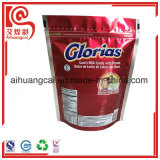 Unterer flacher Aluminiumzusammengesetzter Plastikbeutel für das Milch-Süßigkeit-Verpacken