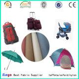 織物210d/300d/420d/600d/1680d PU/PVC上塗を施してある袋のテントファブリック製造業者