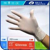 Pidegree gute Qualitätswegwerflatex-Handschuhe Micky Weiß-Puder
