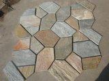 Preiswerter chinesischer roter Porphyr-/Granit-/Basalt-Pflasterung-Stein/Würfel-Stein/Kubikstein/Kopfsteine