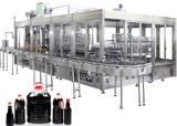 Máquina de etiquetado té de la leche del jugo de la nueva tecnología máquina de rellenar embotelladoa caliente