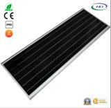 jardín del Ce 80W y del sensor LED del certificado PIR de RoHS/luz de calle solares integrados