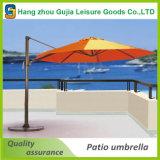 플랩 없는 3X3m 옥외 광고 안뜰 우산
