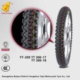 Qualitäts-Motorrad-Reifen-Gummireifen-Reifen-Gefäß 300-17 Tt Yt-209