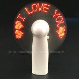 인쇄되는 로고를 가진 LED 번쩍이기 메시지 풀그릴 팬 (3509)