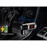 車のための最もよい自在継手2.1AステレオUSBエムピー・スリー無線のBluetooth FMの送信機