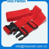 Venta al por mayor cinturón de correas de equipaje de poliéster con bloqueo de plástico