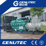 генератор электростанции 1MW высоковольтный тепловозный с 6300V