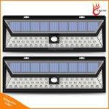 800 lâmpada solar do sensor de movimento do diodo emissor de luz do lúmen 54