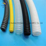 Tubo plástico acanalado flexible estándar del conducto de la ISO 9001 PA/Polyamide/Nylon PP