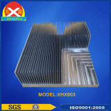 La coutume de la Chine a expulsé la fabrication en aluminium de radiateur de profil