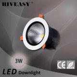 3W aluminio LED Downlight con el proyector de Ce&RoHS LED