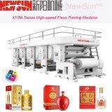Linha de empacotamento externa de alta velocidade máquina de Xyra-1450 Flexo de impressão