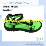Pantoufles en tissu Upper Men Zipper Sandals pour garçons