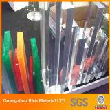 Starkes Clear&Color warf Acrylblatt-Plexiglas-Plastikvorstand