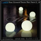 Bille imperméable à l'eau en plastique lumineuse par DEL 20cm 50cm