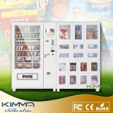 Boneca do sexo e máquina de Vending do preservativo para a venda