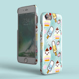 Caso duro modellato di iPhone del gelato