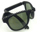 Fdp16142 de Nieuwe Vouwbare Zonnebril van de Kwaliteit van het Ontwerp, die de Unisex-Stijl van de Glazen van de Zon vouwen