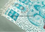 Moslems druckten Maschinen-flaches Bett-gedruckten Acrylschal (ABF22004013)