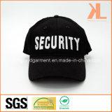 Бейсбольная кепка вышивки обеспеченностью сверла хлопка воинская черная