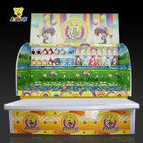 Bola del tiro de la taza de la crema del Cabina-Hielo del juego del carnaval en cabina de interior del juego del juego del carnaval de la taza