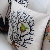 Ammortizzatori rotondi di tela della presidenza del cotone costoso per i sofà che decorano