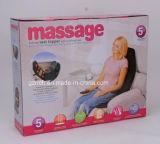Coxim da cadeira da massagem do carro/coxim do assento quente massagem da vibração/massagem