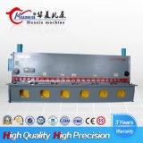 Machine de tonte hydraulique de commande numérique par ordinateur de QC11k Seires Huaxia 12mm, machine de découpage, catalogue des prix chinois de machine de commande numérique par ordinateur