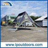 10X14mのイベントのための明確なサイドウォールが付いている屋外のくもの陰の星のテント