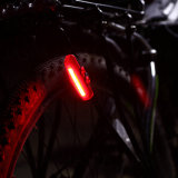 Precio competitivo Batería de polímero de litio COB LED Bike Light