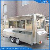 Ys-Fv450A 4.5m Auto van het Voedsel van het Restaurant van het Roestvrij staal de Mobiele Mobiele voor Verkoop