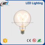 Lampadina molle E27 del filamento LED del cuore creativo del nuovo prodotto