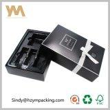 Caja de papel de oro de encargo Caja de regalo de embalaje Artesanía de embalaje