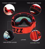 Beschichtung-Objektiv-Ski-Schutzbrille-UVschutz Custome Schnee-Schutzbrillen