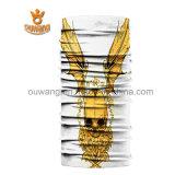 Polyester sans joint estampé par logo fait sur commande Headwear multifonctionnel élastique