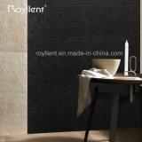 Superficie autoadesiva della spazzola delle mattonelle di mosaico della fabbrica di Royllent del mosaico di colore interno all'ingrosso ASP del nero 4mm 5mm